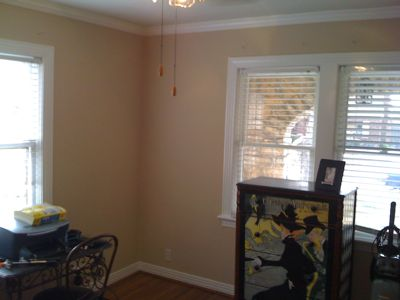 Tulsa Midtown Bungalow Interior Wall Paint