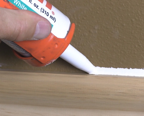 Non Paintable Caulk Photo
