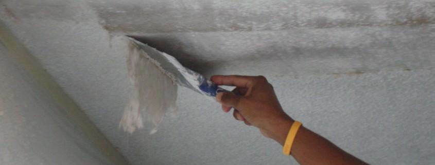 Scraping Popcorn Ceiling