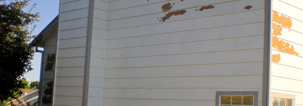 Broken Arrow with Peeling Paint Dukes Painting